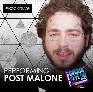 Post Malone to Headline NEW YEAR'S ROCKIN' EVE