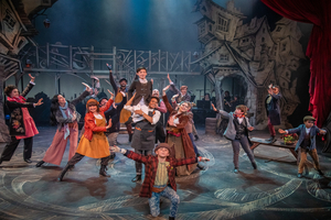 BWW Review: New Rep's OLIVER!: Singing and Dancing Orphans, But No Dog