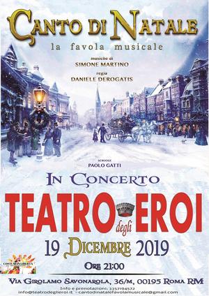 BWW Review: CANTO DI NATALE LA FAVOLA MUSICALE al TEATRO DEGLI EROI