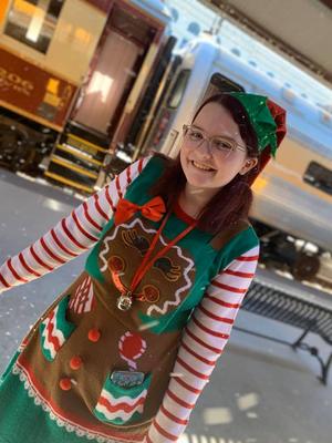 BWW Blog: Elf on a Shelf? More Like Elf on a Train!