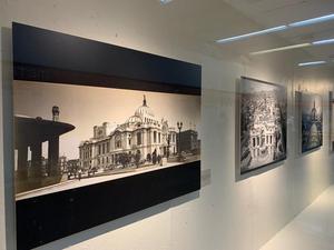 Últimos días de la exposición El Palacio de Bellas Artes. 85 años de arte y cultura en las estaciones Bellas Artes y Auditorio del Metro