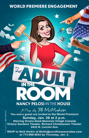 Orlagh Cassidy Will Star as Nancy Pelosi In New Play THE ADULT IN THE ROOM