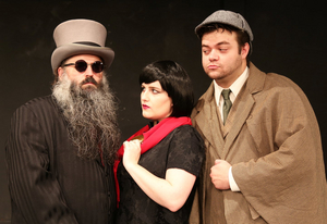 Rover Dramawerks Kicks Off Their 20th Anniversary Season with SHERLOCK HOLMES AND THE PORTAL OF TIME