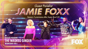 Jamie Foxx to be a Guest Panelist on the Season Three Premiere of THE MASKED SINGER