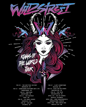 Wildstreet Announce U.S. Tour Dates For February