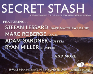 Spruce Peak Performing Arts Presents Stefan Lessard from Dave Matthews Band and His 'Secret Stash'