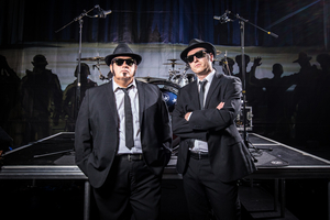 Chicago Blues Brothers Come to Wyvern Theatre, Swindon With A NIGHT AT THE MOVIES