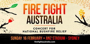 The First Line-Up Of Artists Announced For Fire Fight Australia Concert