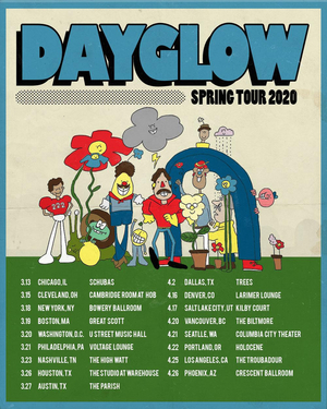 Dayglow Announces North American Spring Tour
