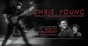 Chris Young Announces the 'Town Ain't Big Enough World Tour 2020'