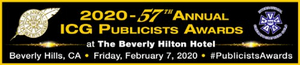 Final Nominations Announced for the 57th Annual ICG Publicists Awards