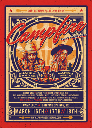 Shakey Graves, Margo Price, Colter Wall & Orville Peck to Headline Inaugural Campfire Gathering