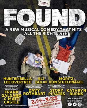 IAMA Theatre Company Will Present the West Coast Premiere of Musical Comedy FOUND Starring Jonah Platt
