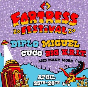 Fortress Festival Announces 2020 Music Lineup Feat. Miguel, Diplo, Cuco, & More