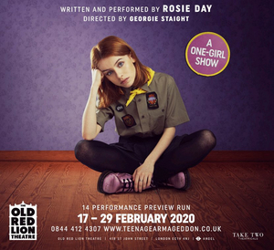 Rosie Day is Bringing INSTRUCTIONS FOR A TEENAGE ARMAGEDDON to The Old Red Lion Theatre