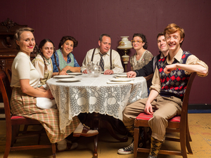 BWW Review: A Sure-Footed BRIGHTON BEACH MEMOIRS at Vagabond Players