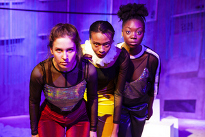BWW Review: THE GIRL WITH GLITTER IN HER EYE. The Bunker Theatre
