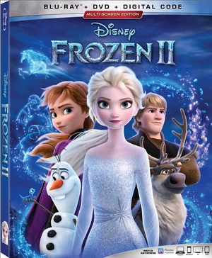Blu-ray and Digital Release Dates Announced for FROZEN 2