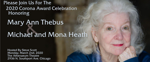 Mary Ann Thebus And Michael And Mona Heath To Receive 2020 Corona Award