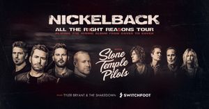 Nickelback Announces 'All The Right Reasons 2020' Summer Tour