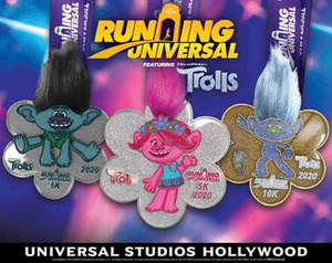 Kick Off 2020 Fitness Resolutions with Universal Studios Hollywood's Popular RUNNING UNIVERSAL