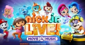 NICK JR. LIVE! MOVE TO THE MUSIC is Coming to the Chicago Theatre