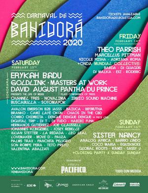 Carnaval de Bahidora Announces Final Line Up