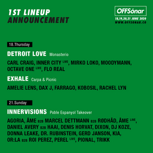 OFFSónar Reveal First Lineups Featuring Moodymann, Daniel Avery, HAAi, Kobosil & More