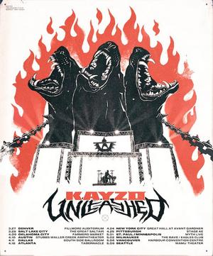 KAYZO Announces North American 'UNLEASHED' Tour