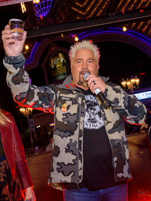 Guy Fieri Celebrates His Birthday at GUY FIERI'S VEGAS KITCHEN & BAR at The LINQ Hotel + Experience