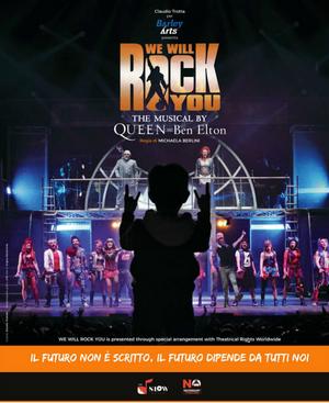 WE WILL ROCK YOU  al Teatro Brancaccio COMUNICATO STAMPA