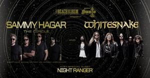 Sammy Hagar & The Circle With Whitesnake Announce 2020 Summer U.S. Tour