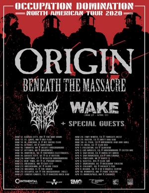 Beneath The Massacre Join Origin on Tour