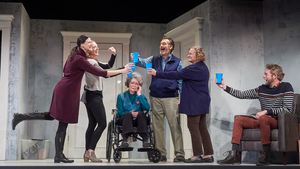BWW Review: THE HUMANS at San Diego Repertory Theatre Proves Even Fictional Family Dinners Can Feel Like A Thriller​​​​​​​