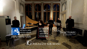 Salon/Sanctuary Concerts Partners With Venetian Institutions For Early Music Concerts In Venice