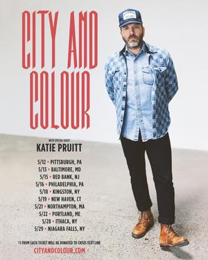 City and Colour Announces May 2020 U.S. Tour Dates