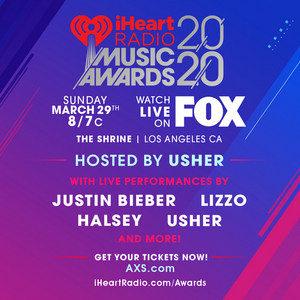 Usher to Host and Perform During the 2020 iHeartRadio Music Awards