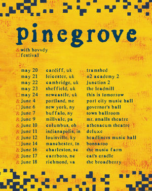 Pinegrove Announce New 2020 Tour Dates With Hovvdy