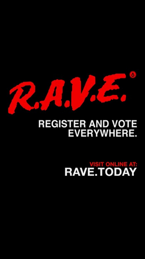 Disco Donnie Presents Partners With Headcount on R.A.V.E (Register And Vote Everywhere)