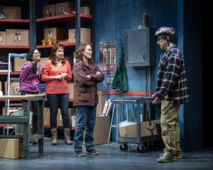 BWW Review: BE HERE NOW at Everyman Theatre - A Touching Dramady About Happiness and Laughter