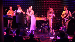 Video: Andrew Keenan-Bolger, Bonnie Milligan, Natalie Walker and More Join The Skivvies On Stage at Joe's Pub