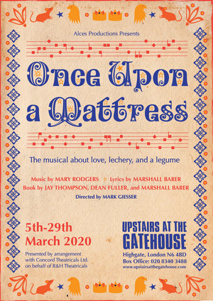Beth Burrows and Theo Toksvig-Stewart To Star In ONCE UPON A MATTRESS At The Gatehouse