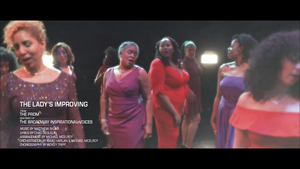 Broadway Inspirational Voices Releases New Video of 'The Lady's Improving' from THE PROM