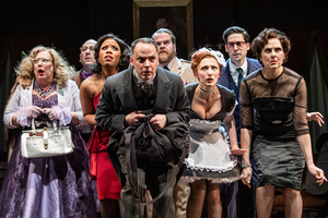 Review Roundup: CLUE at Cleveland Play House Starring John Treacy Egan - What Did the Critics Think?
