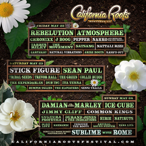 Ice Cube, Atmosphere, And Sean Paul Added to California Roots Music And Arts Festival Lineup
