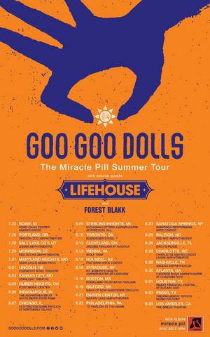 Goo Goo Dolls Announce Summer 2020 North American Headlining Tour