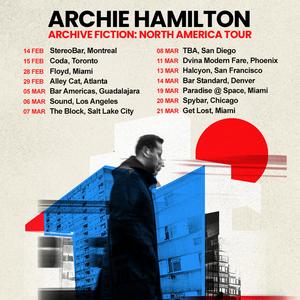 Archie Hamilton Announces Debut Tour Spanning USA, Canada and Mexico