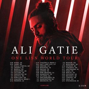 Ali Gatie Announces World Tour