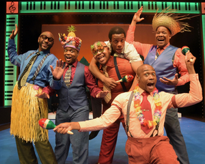 BWW Review: At Westchester Broadway Theatre, FIVE GUYS NAMED MOE Got Mucho Mojo