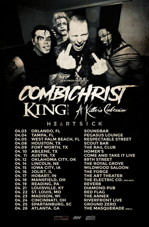Combichrist Announce U.S. Tour with KING 810